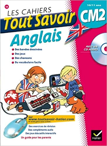 Amazon Fr Les Cahiers Tout Savoir Anglais Cm2 Martial Defrasne