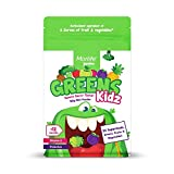 Morlife Junior Greens Kidz 150g - Yummy Berry Taste, 22 Superfoods, Greens, Fruits and Vegetables, 1.8 Billion Probiotics, Prebiotics, Vitamin C, Calcium and Magnesium, 25 Serves