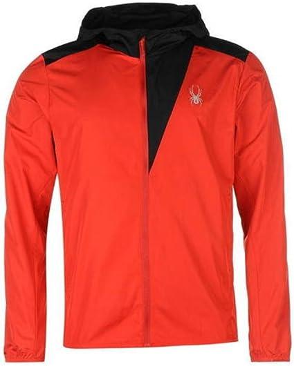 Spyder Alpine Herren T-Shirt Rot Silber alle Größen Neu mit Etikett