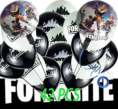 42 Pcs Game Balloons, 12