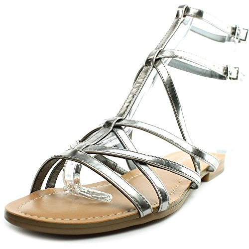 Guess Mannie Orange Gladiator Sandal