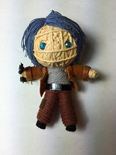 Carol Walking Dead Voodoo String Doll Keychain