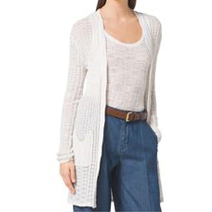 Amazon.com: Michael Kors textura de la mujer chaqueta de ...