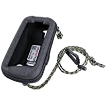 Garmin Monterra CASE COVER made by GizzMoVest LLC. Heavy-Duty in Black w/ Cord Loop & Lanyard w/Clip. MADE IN THE USA.