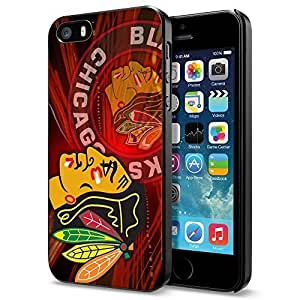 NHL Chicago Blackhawks Logo 1, Cool iPhone 5 5s Case Cover [ Original by PhoneAholic ]