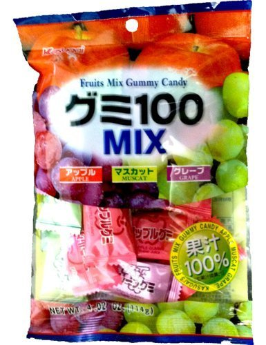 Kasugai - Gummy Mix 100 135g by Kasugai