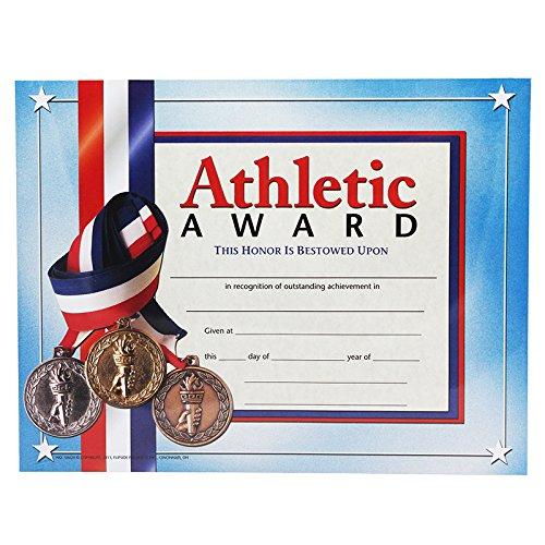 FLIPSIDE CERTIFICATES Athletic Award 30/PK -