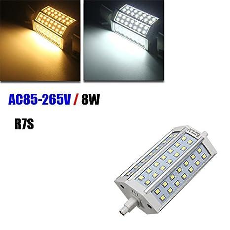 R7S 8 W 42 SMD 2835 LED foco Spotlight Bombilla Lámpara CA 85 – 265 V