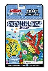 Animals Sequin Art Craft