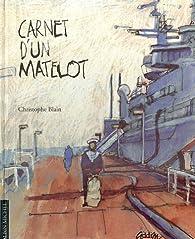 Carnet d'un matelot par Christophe Blain