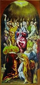 """Editions Ricordi 2802N25007 - Puzzle de 1000 piezas del cuadro """"El pentecostés"""" de El Greco"""