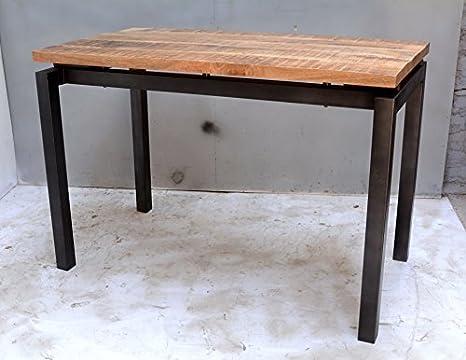 Table De Cuisine Industrielle.My Mobilier Table Haute Industrielle Amazon Fr Cuisine