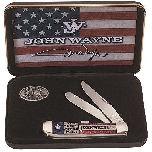 Case John Wayne Gift Set Natural Bone Trapper (6254 Ss) 10702 John Wayne Gift Set Natural Bone Trapper (6254 Ss)