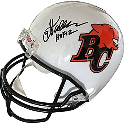 Amazon.com  Damon Allen Autographed B.C. Lions Helmet  Sports ... 25930620b