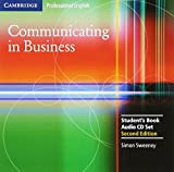 Communicating in Business: Student Audio CD Set (Cambridge Professional English)