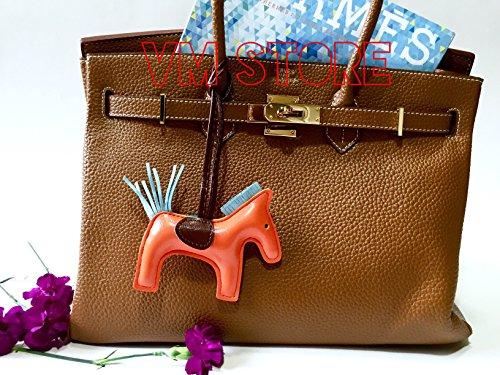 Orange Rodeo Womens Leather Handmade