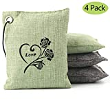 Natural Bamboo Charcoal Air Purifying Bag Deodorizer and Air Freshener Bags for Home