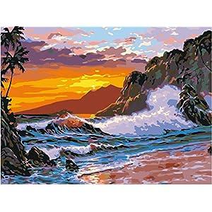 51YNTvQrZSL._SS300_ Beach Paintings & Coastal Paintings