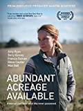 DVD : Abundant Acreage Available