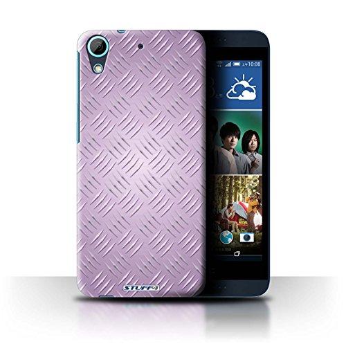 Coque de Stuff4 / Coque pour HTC Desire 626G+ / Rose Design / Motif en Métal en Relief Collection