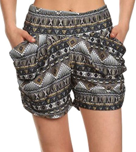 Simplicity%C2%AE Womens Casual Shorts Pockets