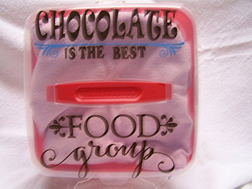 Chocolate Food Group Cupcake Carrier