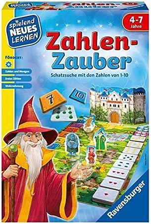 Ravensburger Spiel und Lernen 24964 – Juego de Mesa con números: Meister, Heinz: Amazon.es: Juguetes y juegos