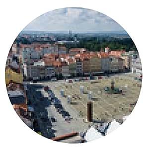 alfombrilla de ratón plaza de Ceske Budejovice - ronda - 20cm
