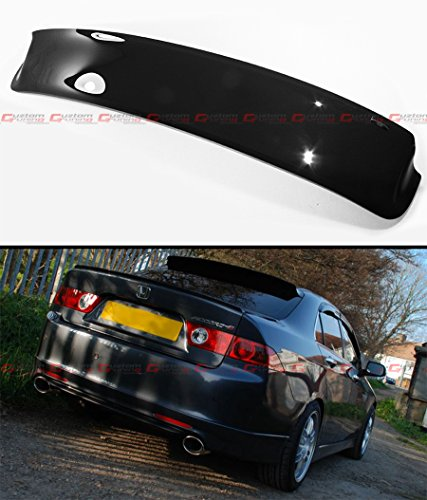 HIC BRAND FOR 2004-2008 ACURA TSX CL8 CL9 EURO-R REAR ROOF WINDOW VISOR DEFLECTOR ()