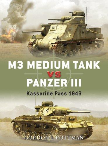 M3 Medium Tank vs Panzer III: Kasserine Pass 1943 (Duel Book ()