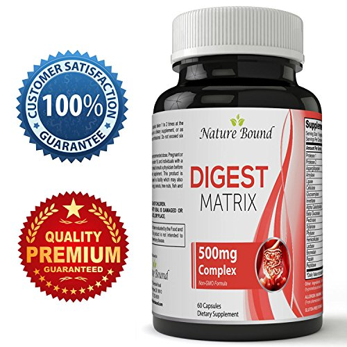 Best Digestive Enzymes Supplement With Lipase Amylase Bromelain - Digestive Support Formula For Digestion Of Protein Carbs Fats & Dairy Products – Promotes Weight Loss & Increase Energy