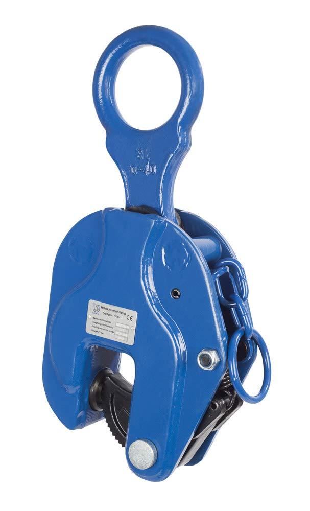 1000 kg Tragf/ähigkeit 3,5 kg Gewicht 0-22 mm Greifbereich PLANETA F00001 Hebeklemme VLC-1