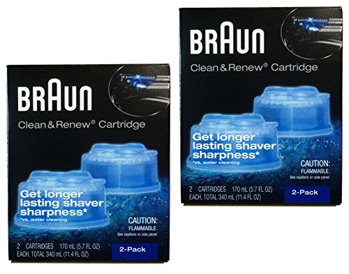 (Braun Clean and Renew 4 Pack)
