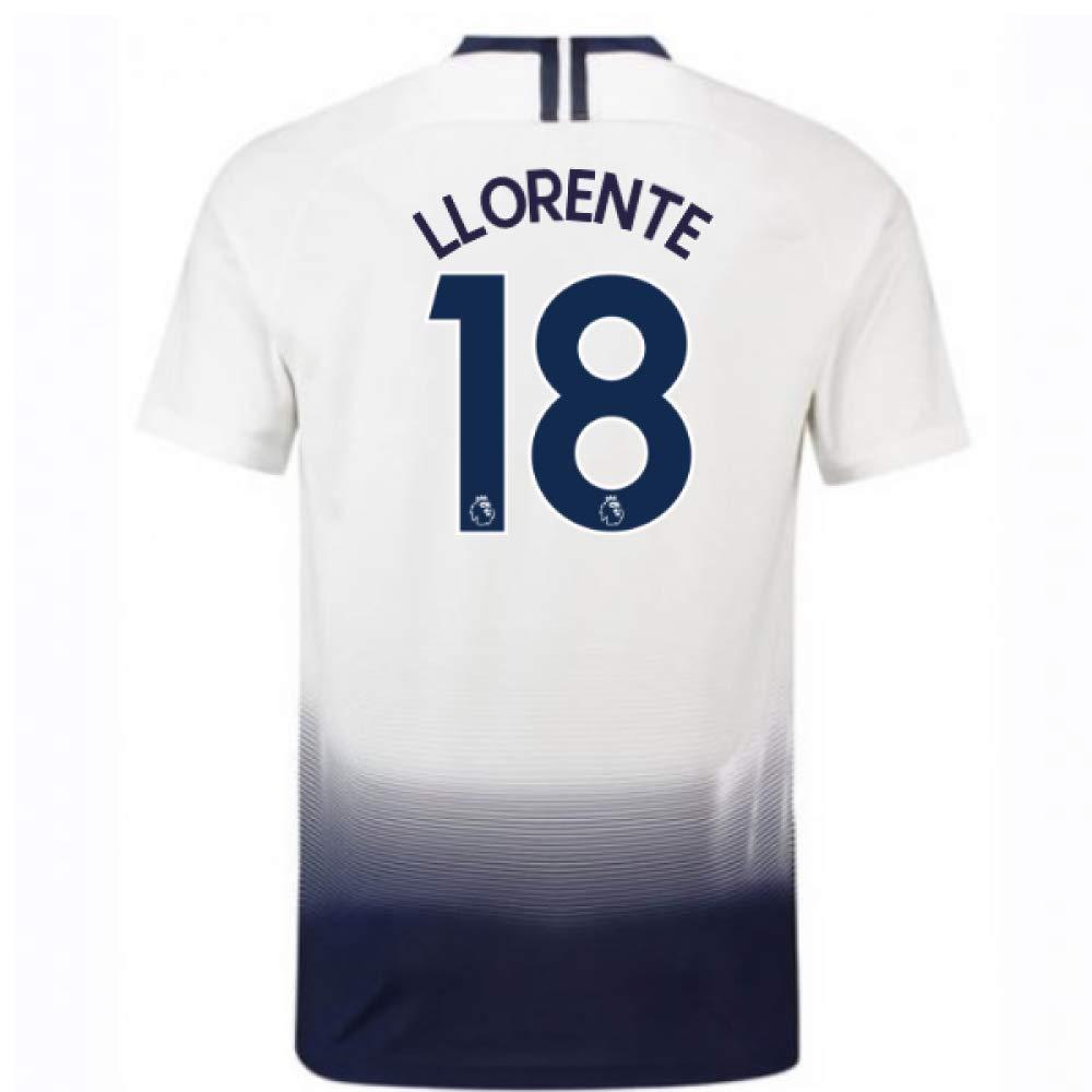 2018-2019 Tottenham Vapor Match Home Nike Football Soccer T-Shirt Trikot (Fernando Llorente 18)