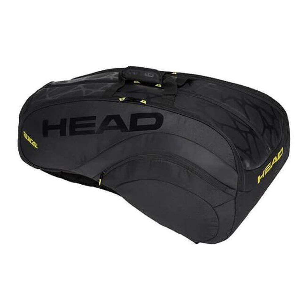 HEAD(ヘッド) ラケットバッグ ラジカルリミテッド Radical LTD 12R Monstercombi 283898-BKYW [並行輸入品] B07MLZ7N96