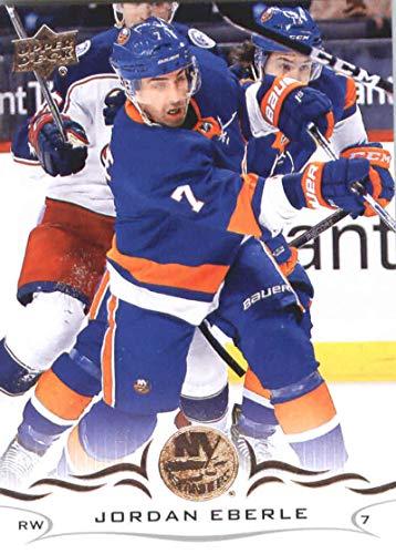 9e9102038 Amazon.com  2018-19 Upper Deck  117 Jordan Eberle New York Islanders NHL  Hockey Trading Card  Collectibles   Fine Art