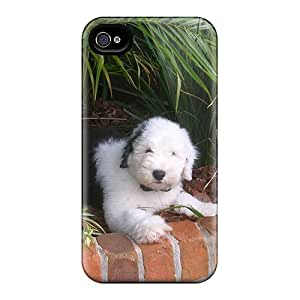 Protective Tpu Case With Fashion Design For Iphone 4/4s (nature Puppy)