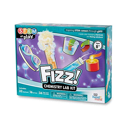 FIZZ! Chemistry Science Kit for Kids (Ages 8+) - Build