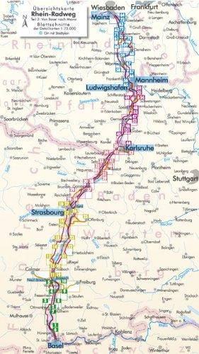 rhein radweg karte download Rhein Radweg: Basel Mainz   BIKE.380 v. 2: James E. Post