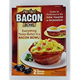 Perfect Bacon Bowl, (Pack of 2 Bowls) by Perfect Bacon Bowl
