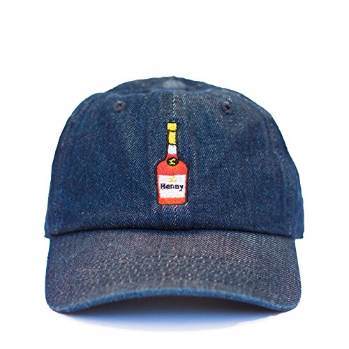 7c819d5e57 Hennessy Dad Hat Baseball Cap (BlueDenim) - Buy Online in Oman ...