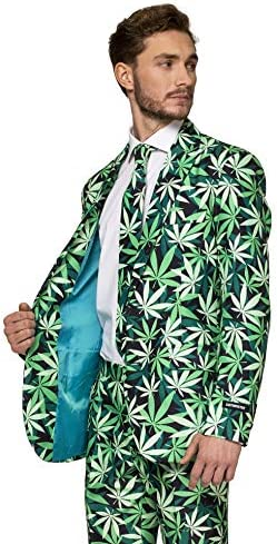 Suitmeister Halloween Suits for Men in Different Prints and Colors – Adult Costumes Include Jacket Pants & Tie 4