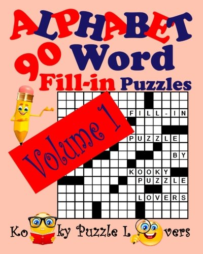 Download Alphabet Word Fill-In, Volume 1, 90 Puzzles ebook