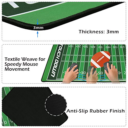 51YNa9TR3xL - Extended-Football-Gaming-Mouse-Pad-XXL-Large-Size-354-x-157-inch-with-Carrying-Bag