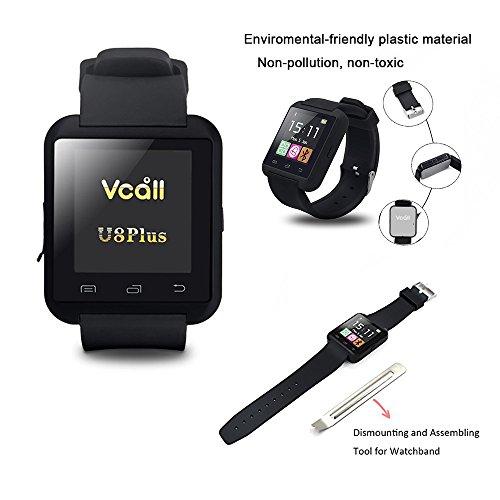 VCALL U8 Plus Bluetooth Smartwatch Smart Watch Wristwatch ...
