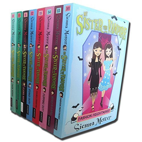My Sister the Vampire - Series 2 (Books 9 to 16) Collection Pack Set By Sienna Mercer
