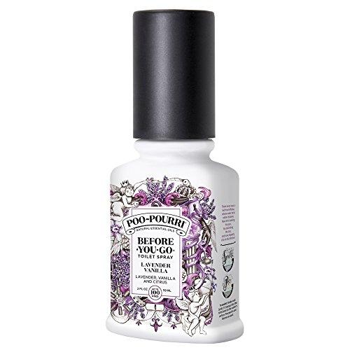 Poo-Pourri LV-002-CB Botella Rociadora para Inodoro, Lavender Vanilla Scent, 2 Oz