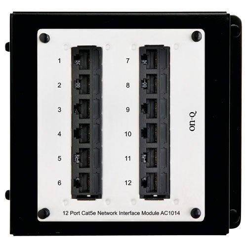 Legrand - On-Q AC1014 12Port Cat 5e Network Interface Module