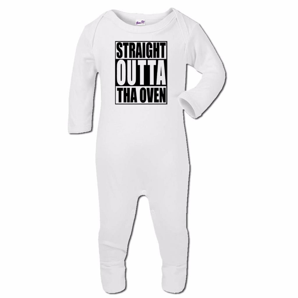 Bang Tidy Clothing Baby Romper Suit Boy Girl One Piece Straight Outta Tha Oven