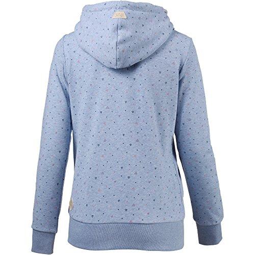 blue melange chaqueta Ragwear Light Deportiva Mujer XUnnT6